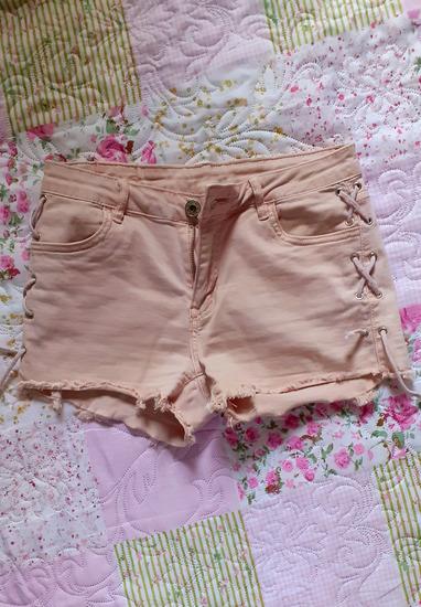 Roze teksas šorts
