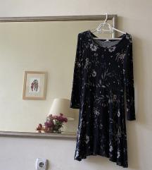 Cvetna haljina za hladnije dane