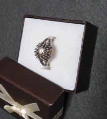 Prsten srebro cirkon