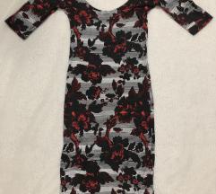 Uska haljina sa prelepim printom
