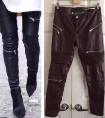 💓 Zara premium kozne pantalone 💓