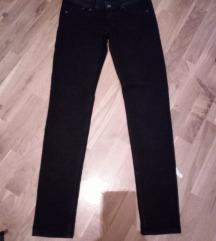 H&M crne uske pantalone S/M