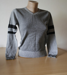 Siva kratka bluza