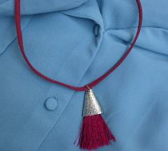Bordo ogrlica 💜
