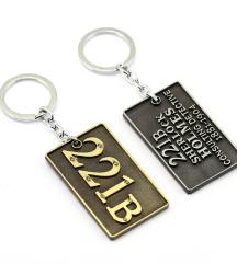Sherlock Holmes privezak za kljuceve.