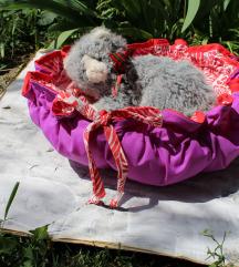 Krevet lezalj za mace i kuce ljubicasta Novo
