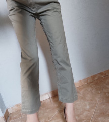 Pantalone 7/8,maslinaste
