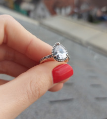 Pandora prsten s925 Ale 56