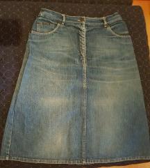 Teksas suknja 80% SNIZENA!!!!