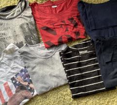 8 bodi majica dugih rukava S/M