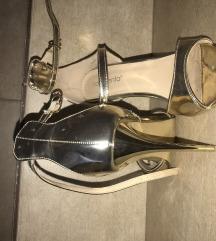 novecento zlatne sandale