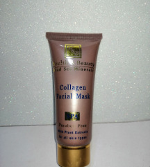 Collagen facial mask spa with plant extracts