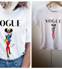 VOGUE Mini Maus print majica *NOVA*