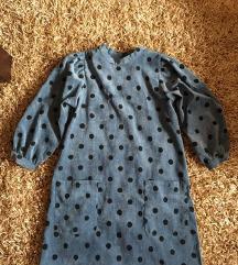 Nova ZARA haljina sa puf rukavima+besp.dostava