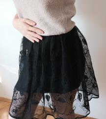 DKNY suknja sa cipkom