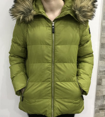Zimska zelena jakna