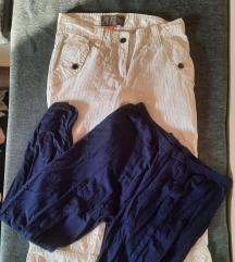 Kratke pantalone na prugice i poklon helanke