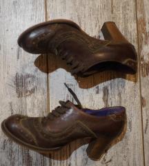 Kožne Oxford cipele na štiklu