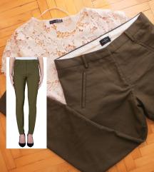 FIVE UNITS pantalone navy zelene ORIGINAL vel.30