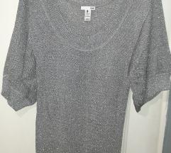 H&M dzemper haljina sa sljokicama M