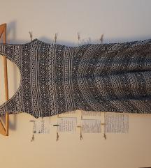 Terranova crnobela haljinica