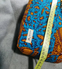 Orange Pattern Neseser