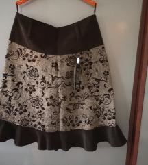 Suknja sa etiketom, novo