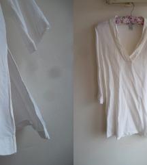 HM bluza-tunika od viskoze sa slicevima, M