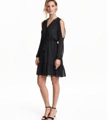 👗 Mala crna haljina - Open-shoulder Dress H&M 👗