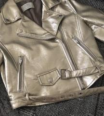 Nova biker zlatna jakna ! Top !!