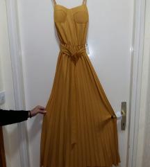 Plisirana haljina NOVO