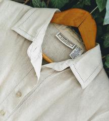 Vintage košulja, lan i rayon
