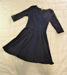 216. Tamno teget haljina A kroja