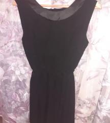Crna haljinica leprsava nova