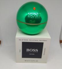 Hugo boss green in motion