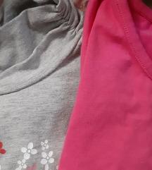 Set od tri majice za devojcice