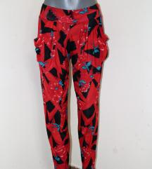 Lagane letnje cvetne šalvare/pantalone