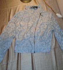 Čipkasti siva jaknica TallyWeijl