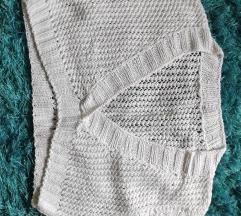 Pleteni crop džemper