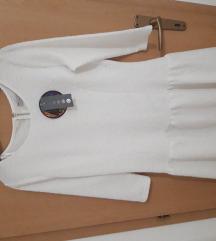 Nova bela kratka mini letnja haljina