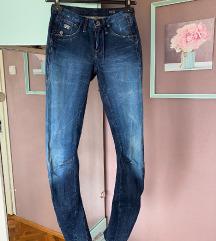 G-star RAW skinny jeans sa dubokim strukom