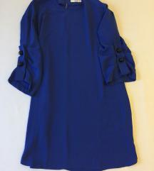 MANGO casual - Plava haljina