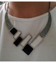 Posrebrena ogrlica - novo AKCIJA