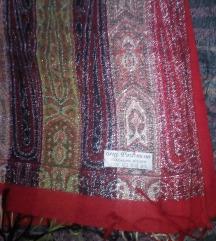 PASHMINA , kasmir i svila , velika