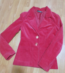 Crveni somot sako
