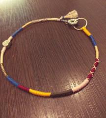 Unikatna rucno radjena boho ogrlica