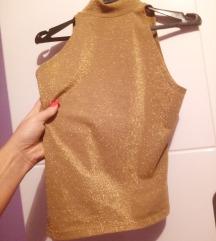 Predivna zlatna majica+poklon