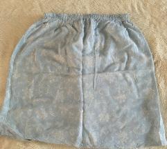 Svetlo plava suknja univerzalna veličina