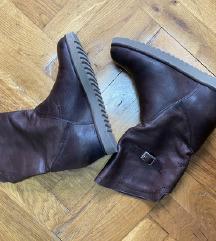 Braon kozne cizme