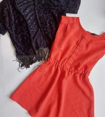 Crvena George haljina